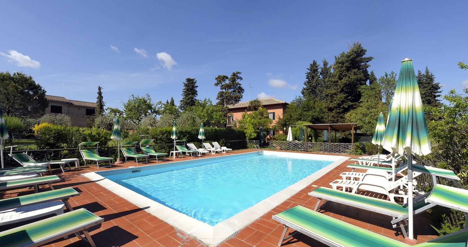 Hotel Villa Belvedere Siena